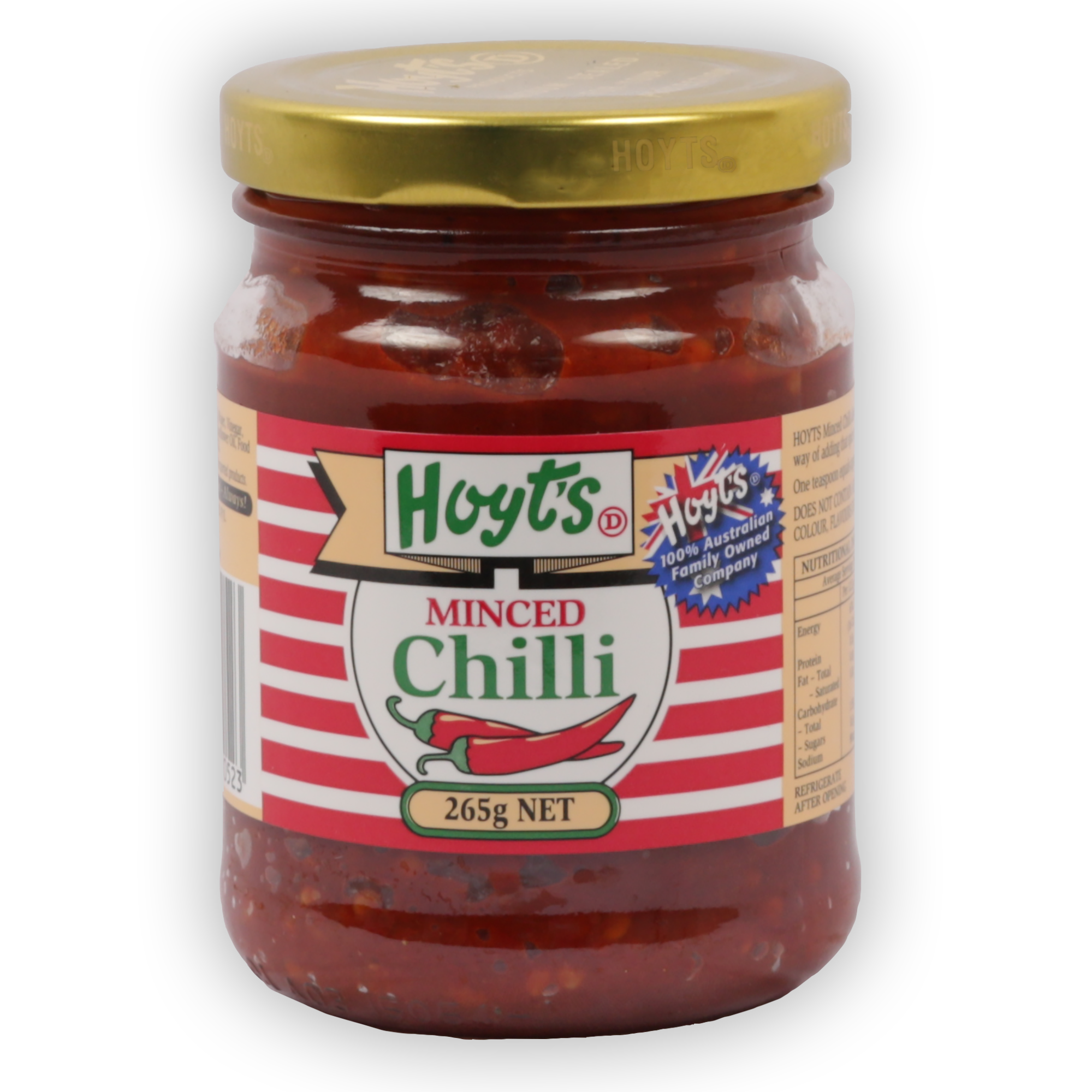 Chilli MInced Fresh 265g - 9300725000523