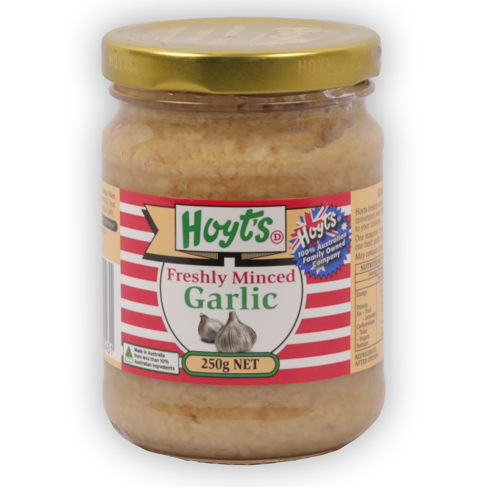 Garlic Minced Fresh 250g - 9300725000431