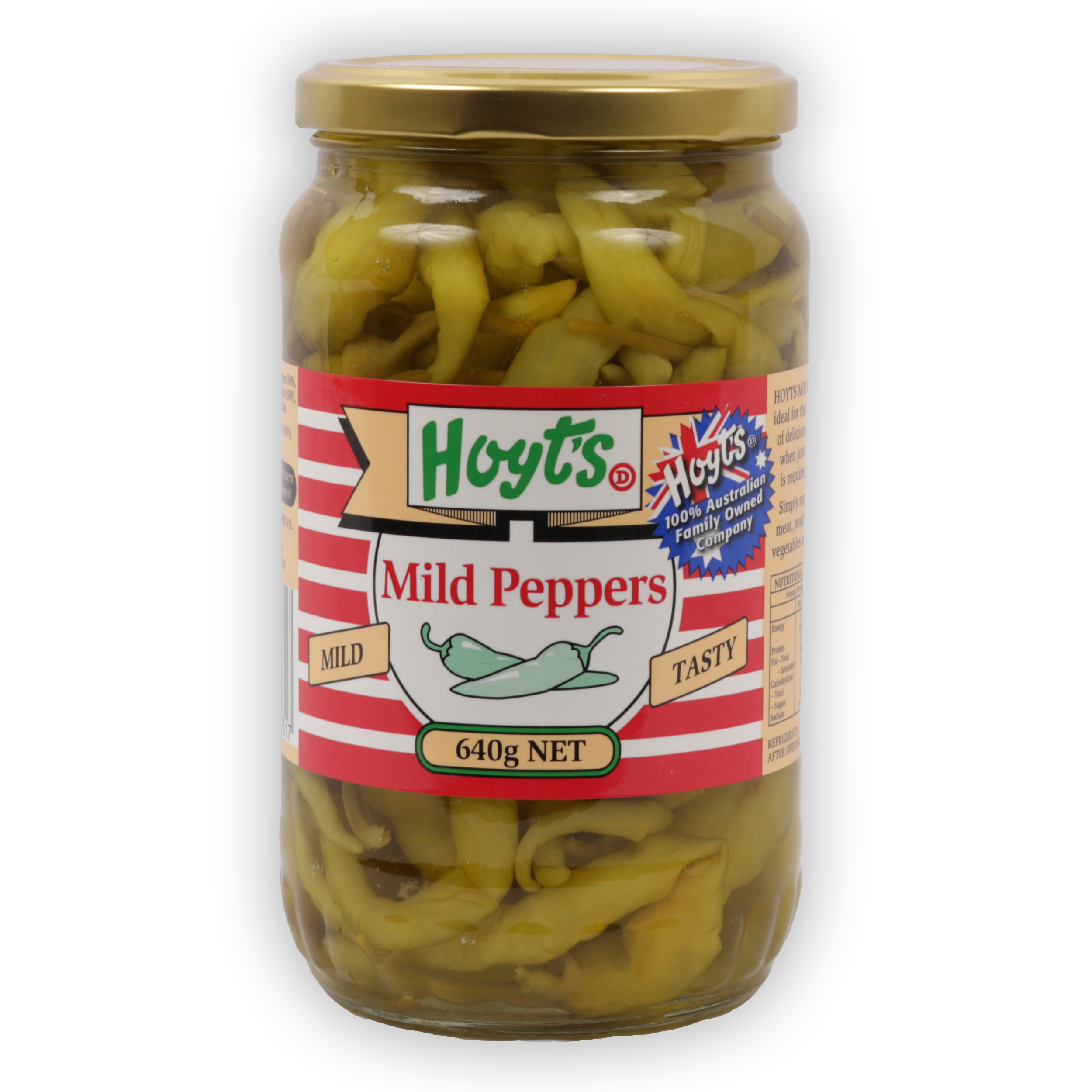 Peppers Mild 640g - 9300725007317