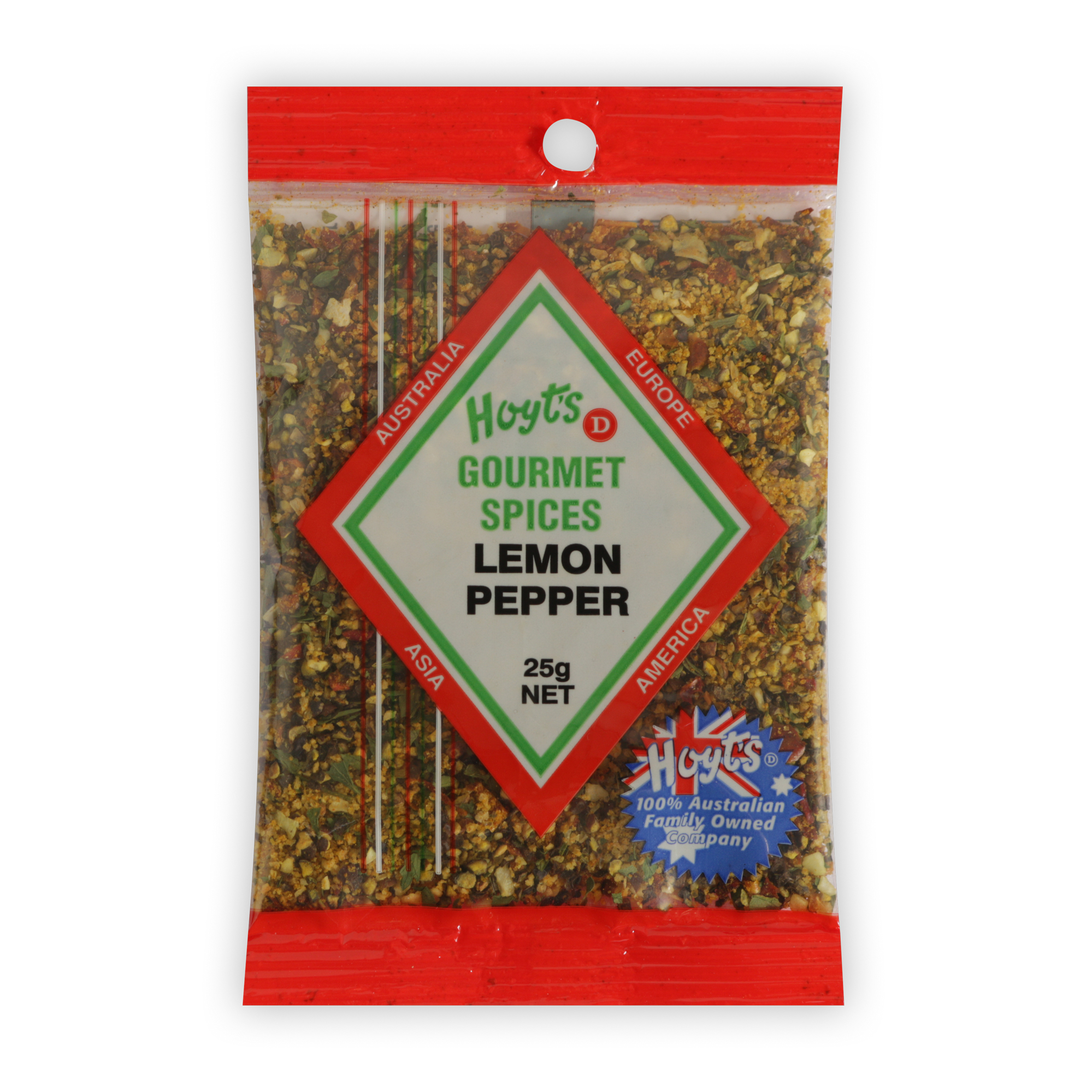 Hoyts Gourmet Lemon Pepper 25g - 9300725010300 1