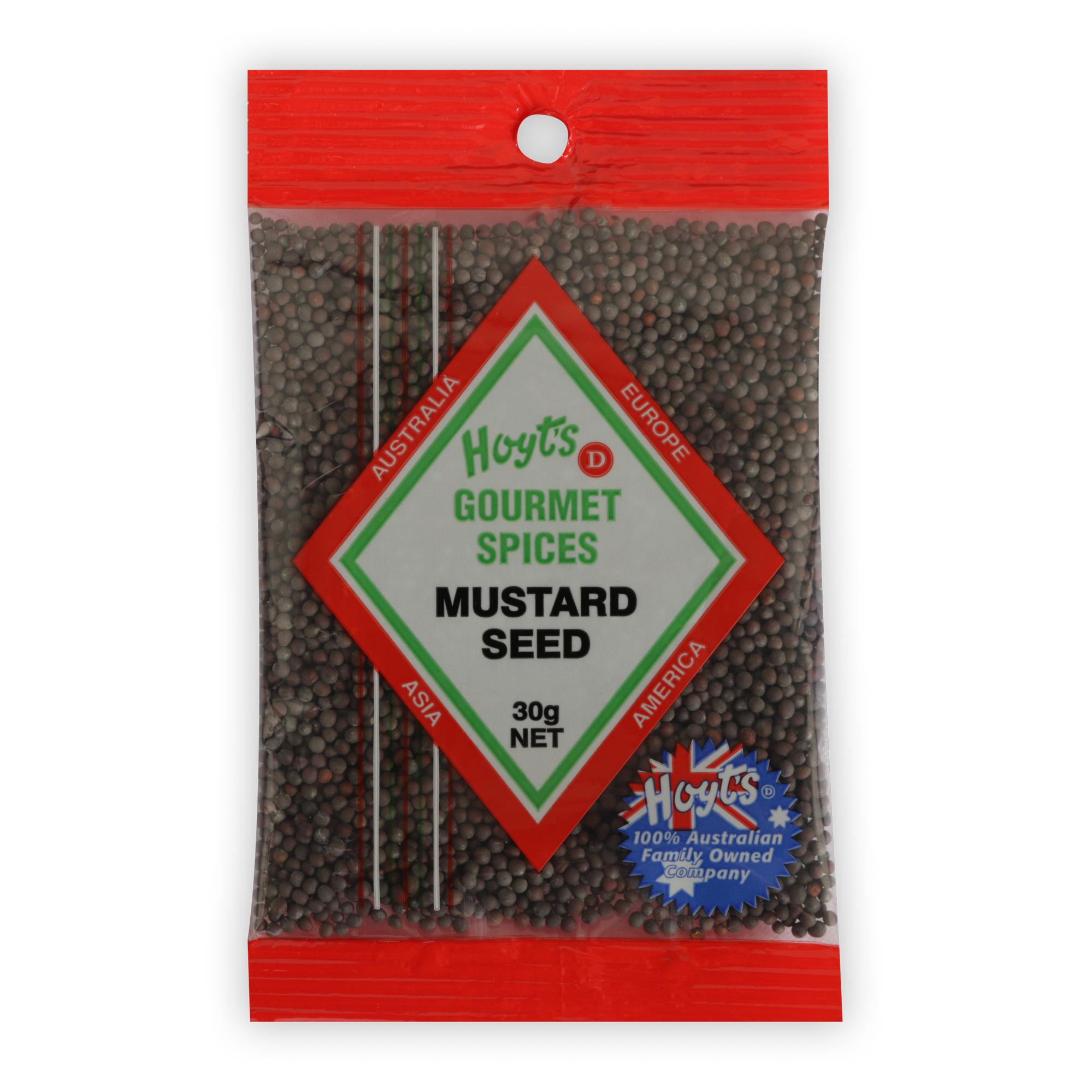 Hoyts Gourmet Mustard Seed (brown) 30g