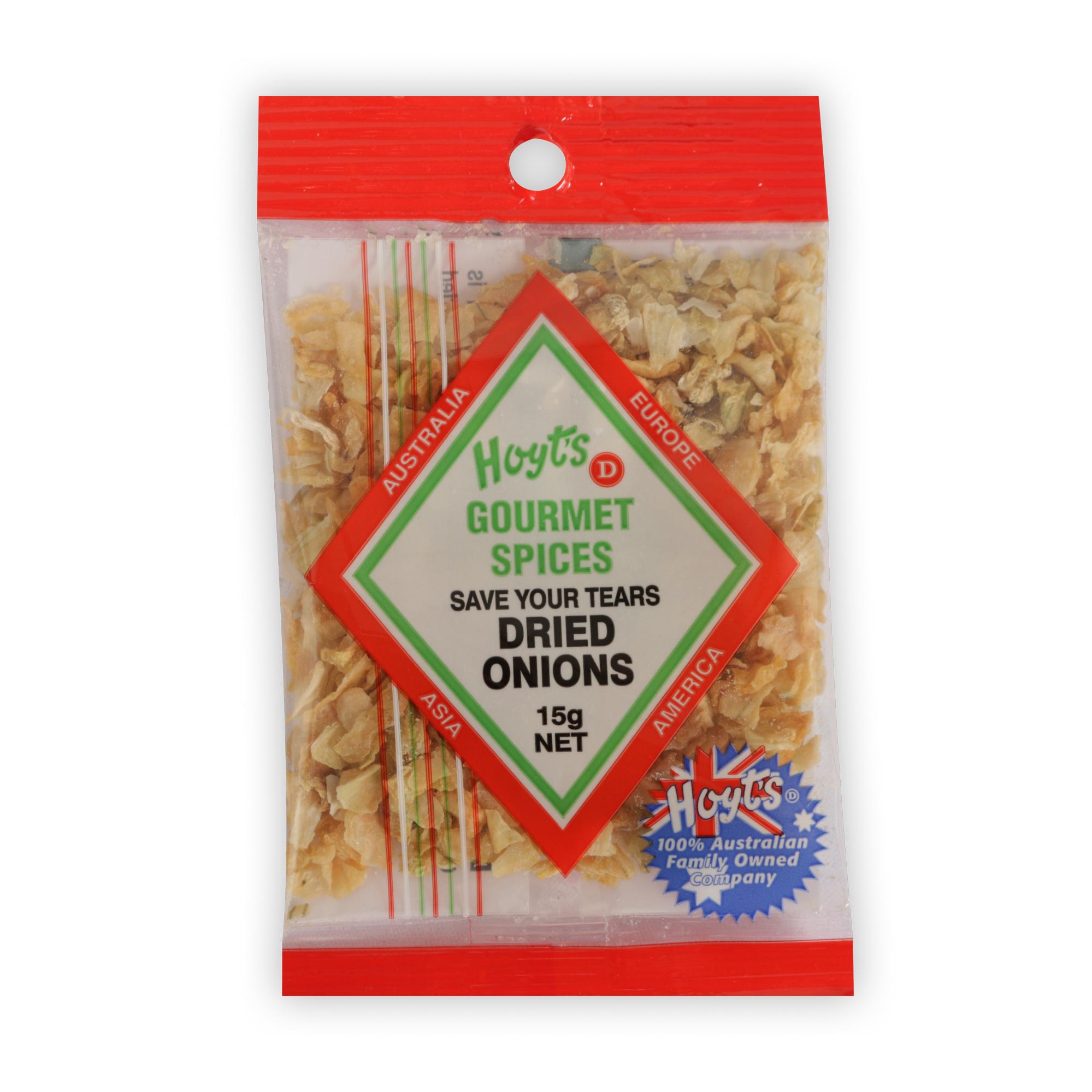 Hoyts Gourmet Onion Flakes 15g