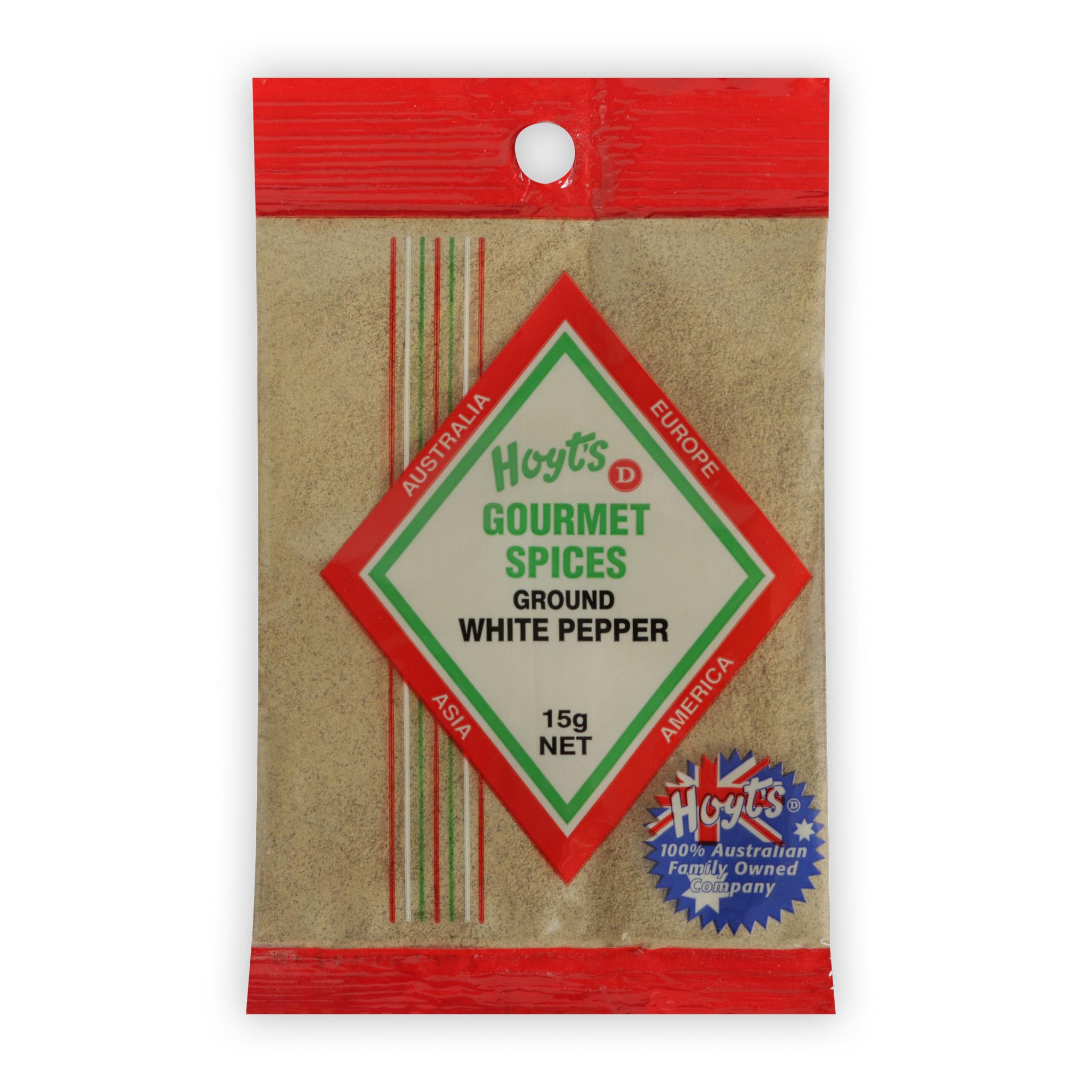 Hoyts Gourmet Pepper - White Ground 15g