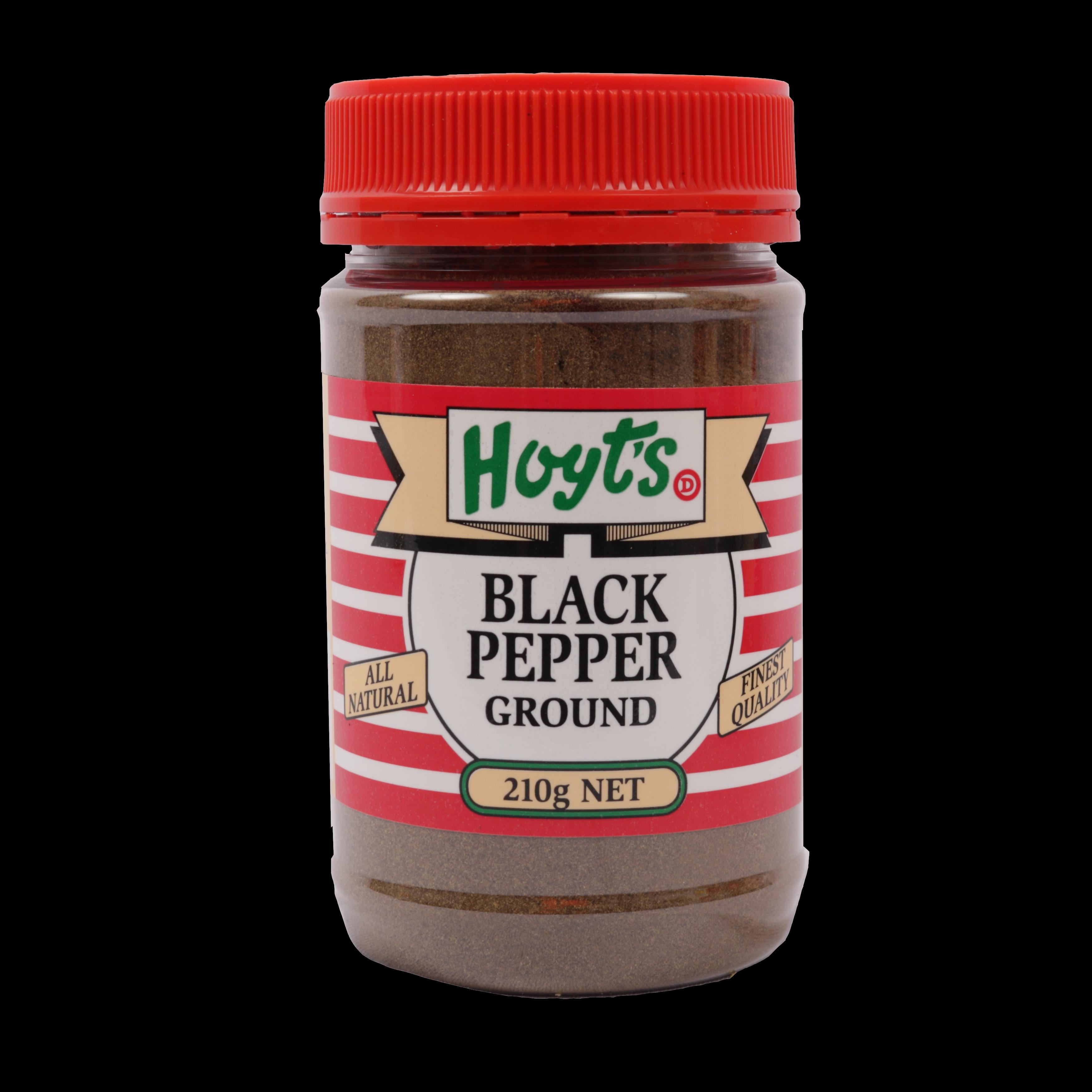 Hoyts Black Pepper Ground 210g