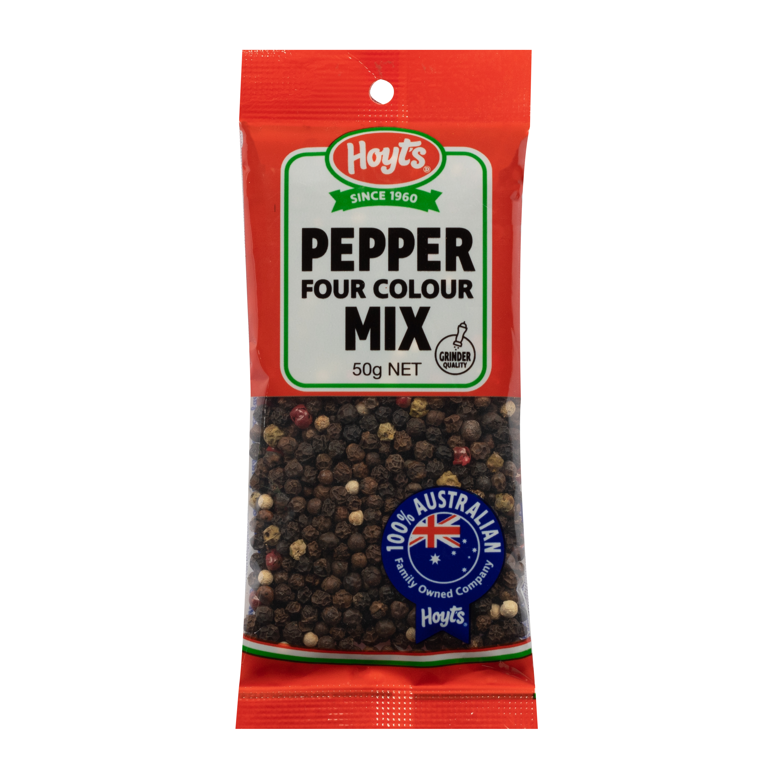 Hoyts Four Colour Pepper Mix 50g
