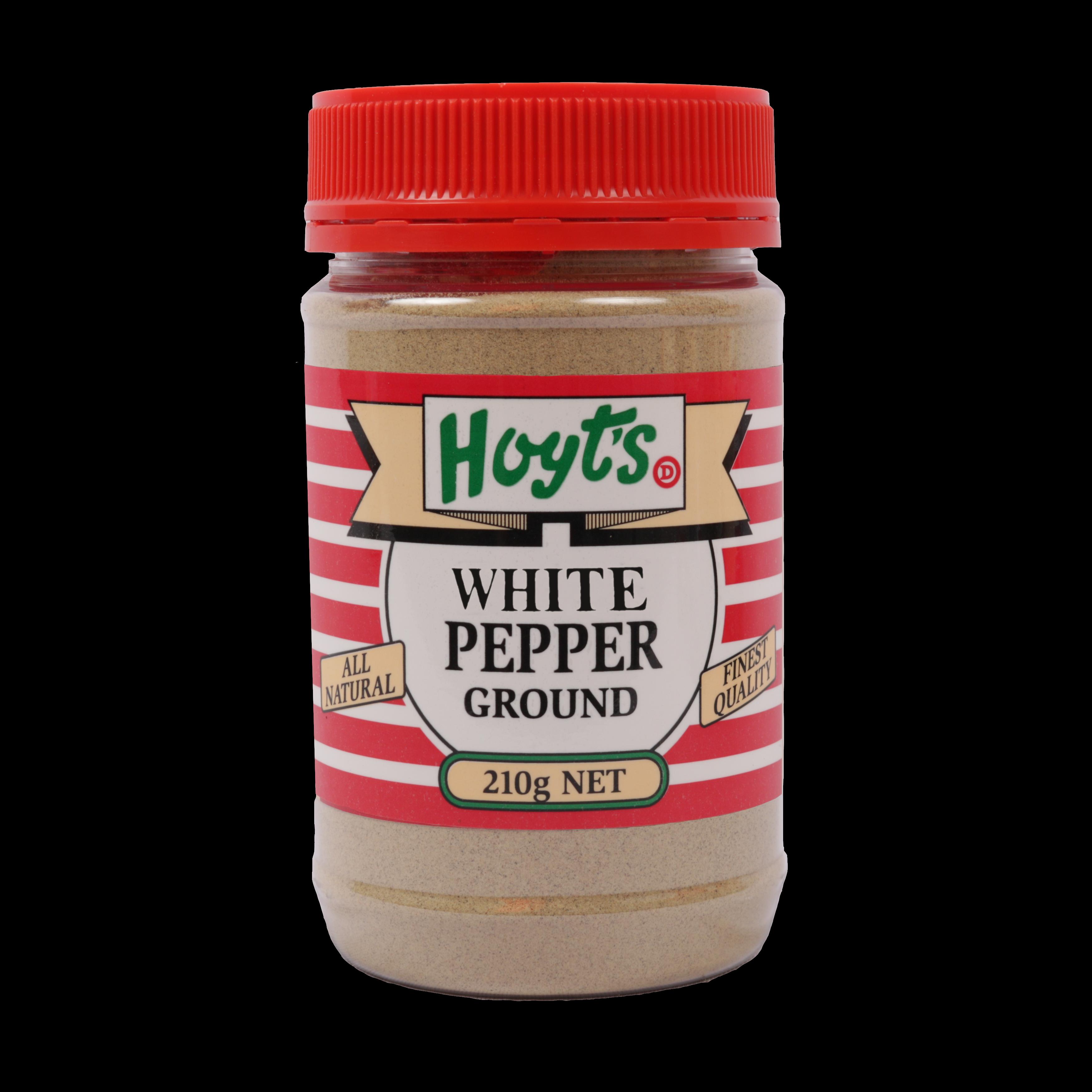Hoyts White Pepper Ground 210g